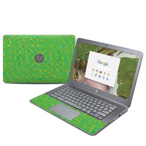 Speckle Contours HP Chromebook 14 G5 Skin