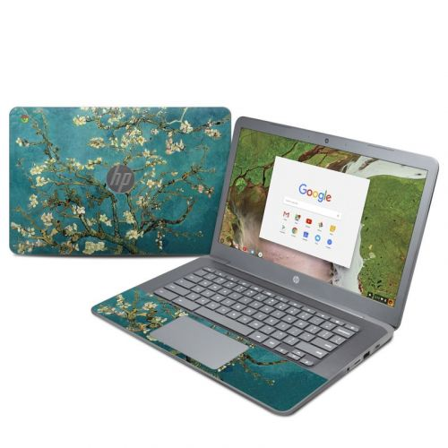 Blossoming Almond Tree HP Chromebook 14 G5 Skin