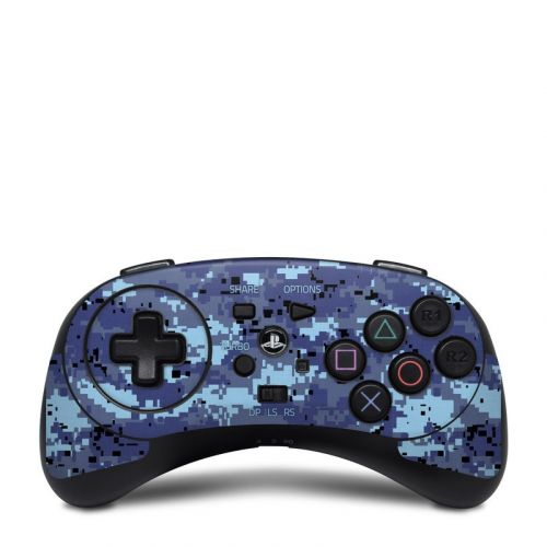 Digital Sky Camo HORI Fighting Commander Skin