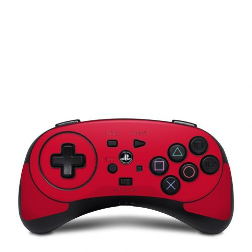 Solid State Red HORI Fighting Commander Skin