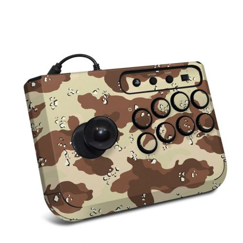 Desert Camo HORI Fighting Stick Mini 4 Skin