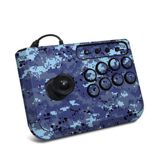 Digital Sky Camo HORI Fighting Stick Mini 4 Skin