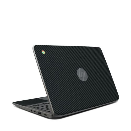 Carbon HP Chromebook 11 G7 Skin