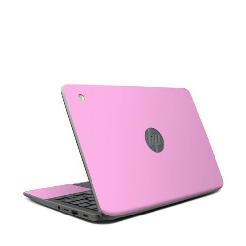 Solid State Pink HP Chromebook 11 G7 Skin
