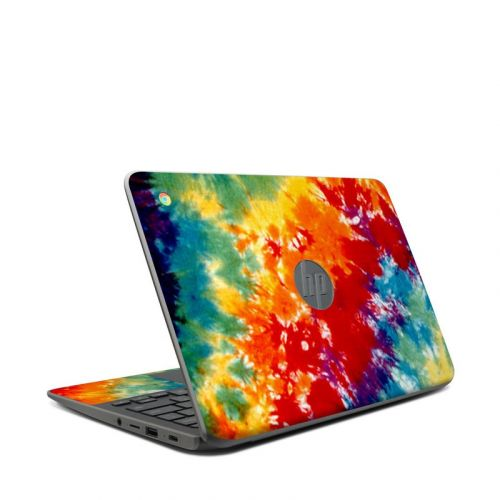 Tie Dyed HP Chromebook 11 G7 Skin
