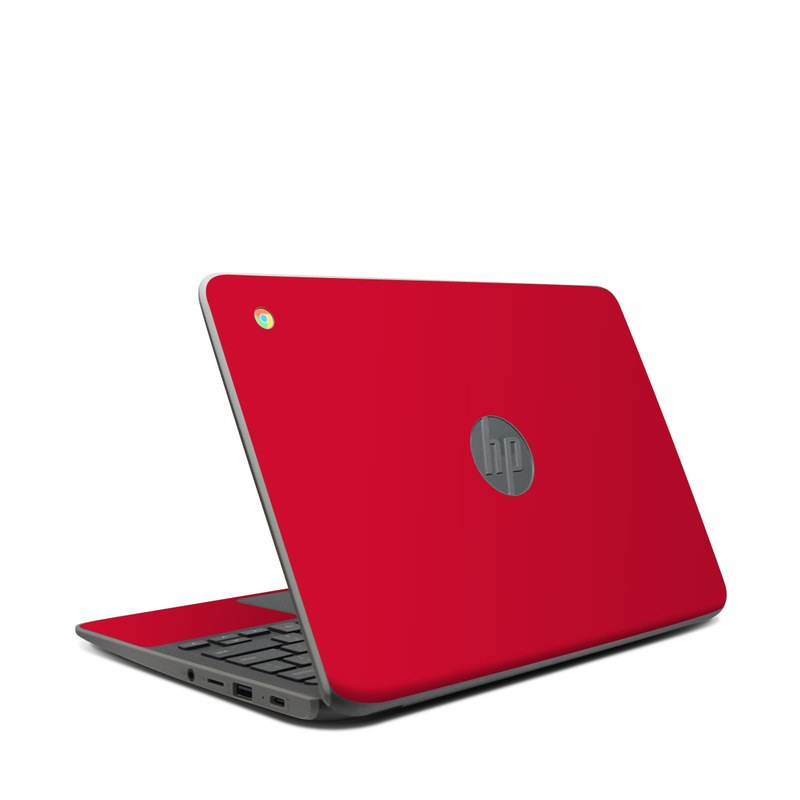 HP Chromebook 11 G7 Skin design of Red, Pink, Maroon, Purple, Orange, Violet, Magenta, Material property, Font, Peach with red colors