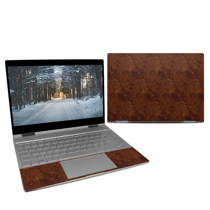HP Spectre x360 13-inch Skin design of Brown, Wood, Wood flooring, Caramel color, Pattern, Hardwood, Wood stain, Flooring, Floor, Plywood with brown colors