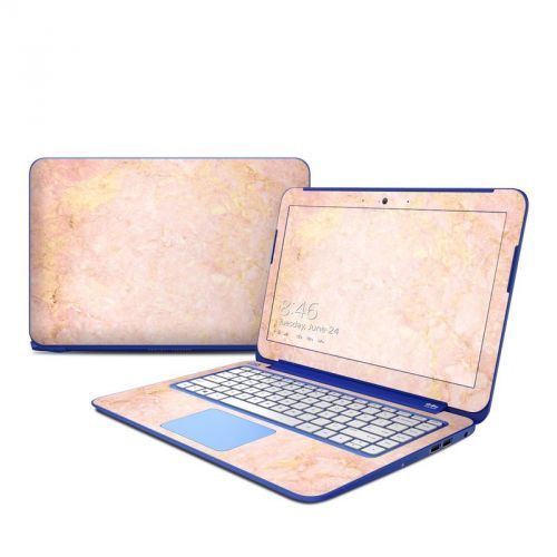Rose Gold Marble HP Stream 13 Skin