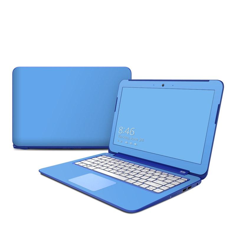 Solid State Blue HP Stream 13 Skin