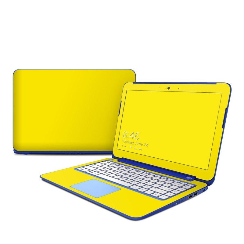 Solid State Yellow HP Stream 13 Skin