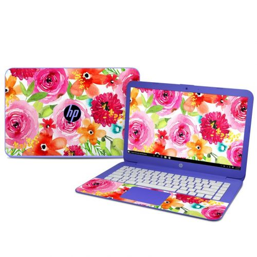 Floral Pop HP Stream 14 Skin