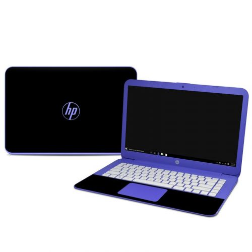 Solid State Black HP Stream 14 Skin
