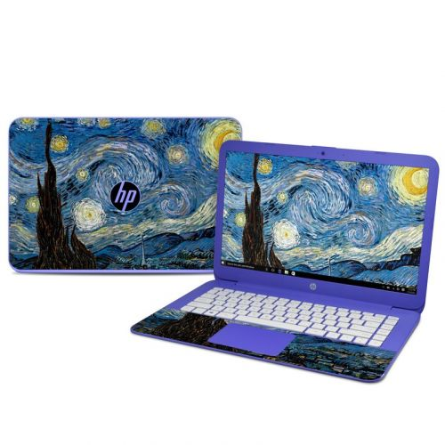 Starry Night HP Stream 14 Skin