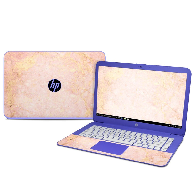 Rose Gold Marble Hp Stream 14 Skin Istyles