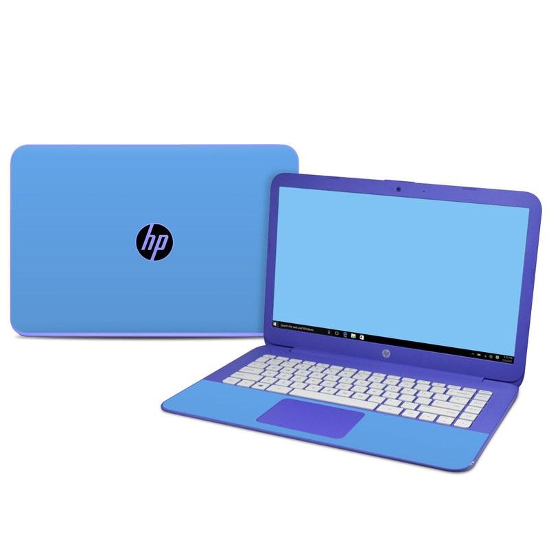 HP Stream 14 Skin design of Sky, Blue, Daytime, Aqua, Cobalt blue, Atmosphere, Azure, Turquoise, Electric blue, Calm with blue colors
