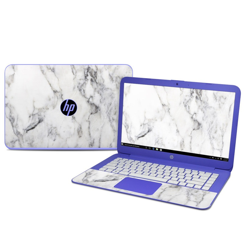 White Marble HP Stream 14 Skin