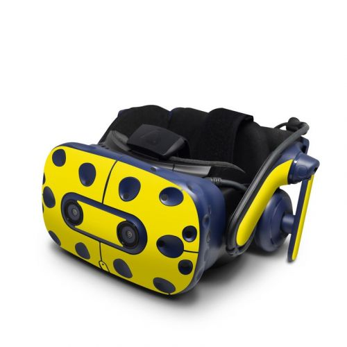 Solid State Yellow HTC VIVE Pro Skin