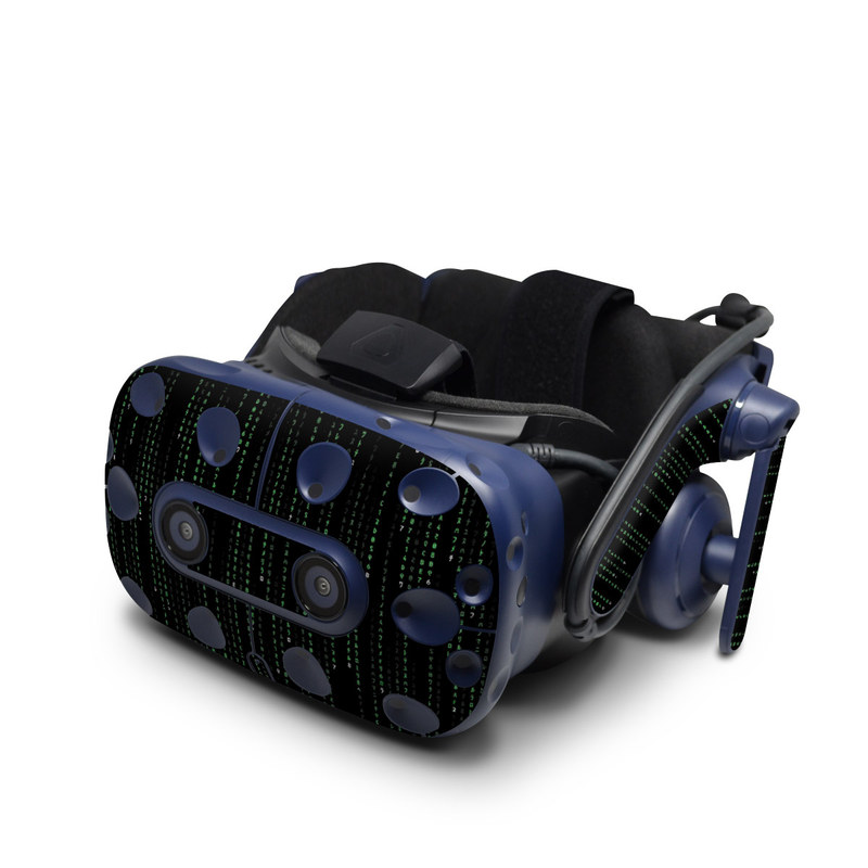 Matrix Style Code HTC VIVE Pro Skin