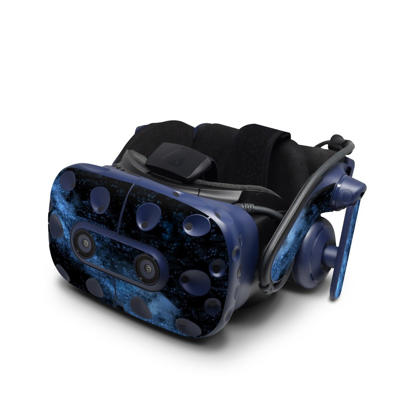 HTC VIVE Pro Skin design of Sky, Atmosphere, Black, Blue, Outer space, Atmospheric phenomenon, Astronomical object, Darkness, Universe, Space with black, blue colors