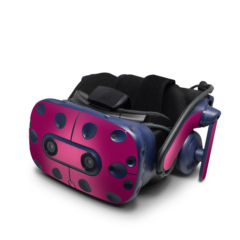 HTC VIVE Pro Skin design of Pink, Violet, Red, Purple, Magenta, Lilac, Material property, Pattern with red, purple colors