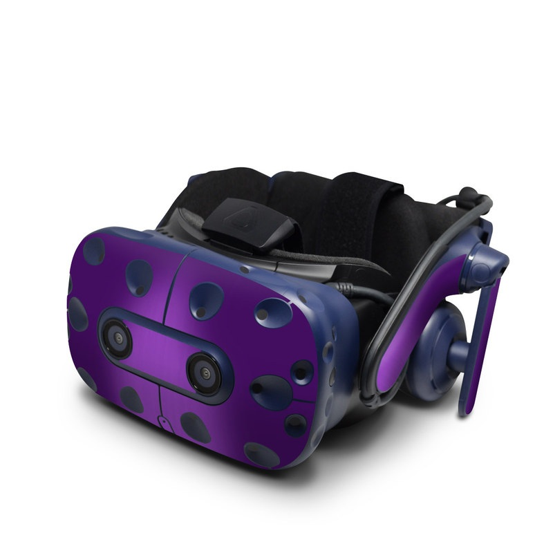 HTC VIVE Pro Skin design of Violet, Purple, Lilac, Pink, Magenta, Wallpaper with black, purple, blue colors