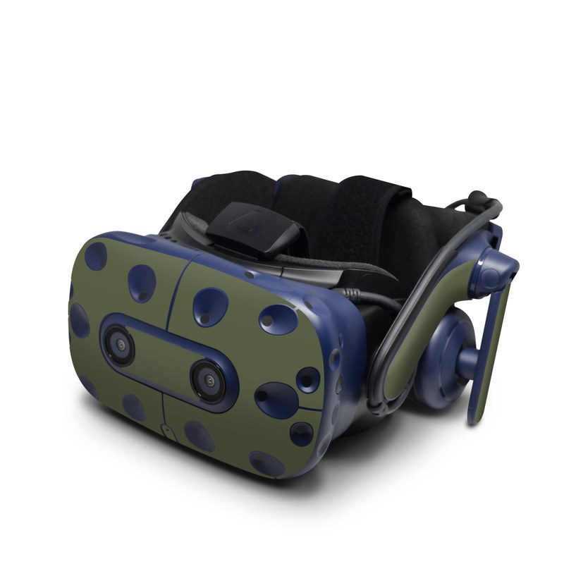 Solid State Olive Drab HTC VIVE Pro Skin