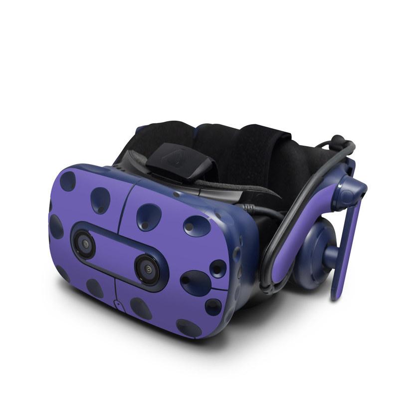 HTC VIVE Pro Skin design of Blue, Violet, Sky, Purple, Daytime, Black, Lilac, Cobalt blue, Pink, Azure with purple colors