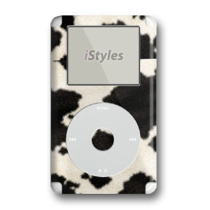 Cow Print iPod 4th Generation Skin
