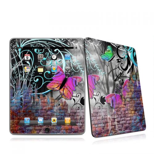 Butterfly Wall iPad 1st Gen Skin