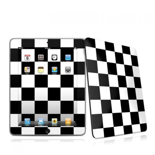 Checkers iPad 1st Gen Skin