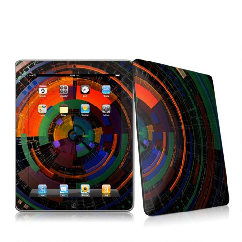 Color Wheel iPad 1st Gen Skin