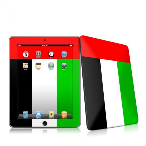 United Arab Emirates Flag iPad 1st Gen Skin