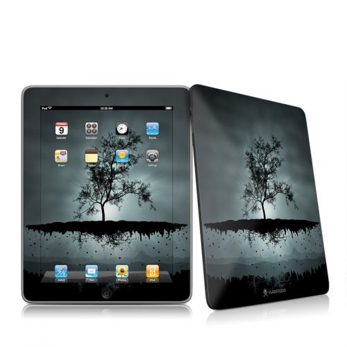 Flying Tree Black iPad 1st Gen Skin