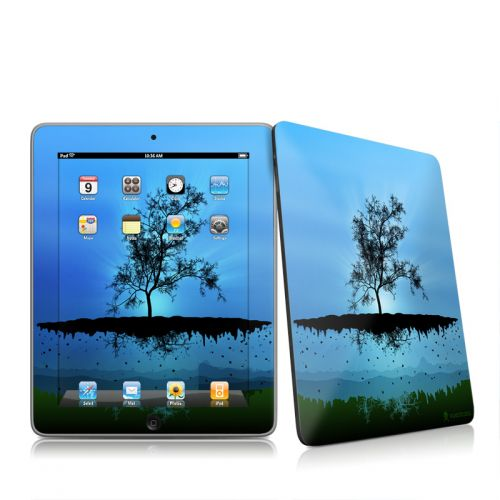 Flying Tree Blue iPad 1st Gen Skin