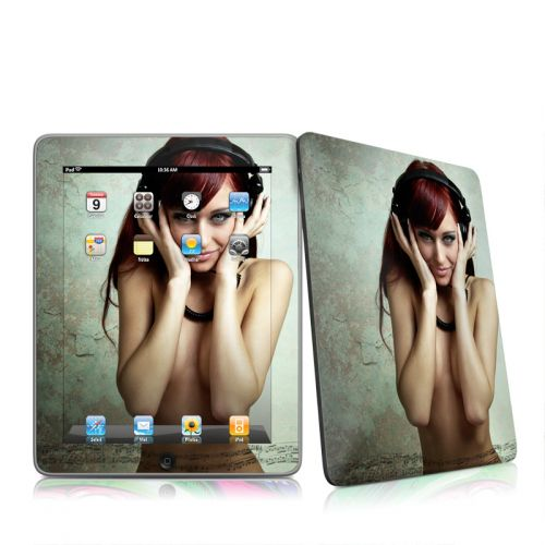 Headphones iPad 1st Gen Skin
