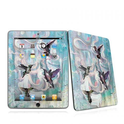 Hummingbirds iPad 1st Gen Skin