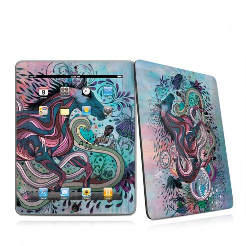 Poetry in Motion iPad 1st Gen Skin