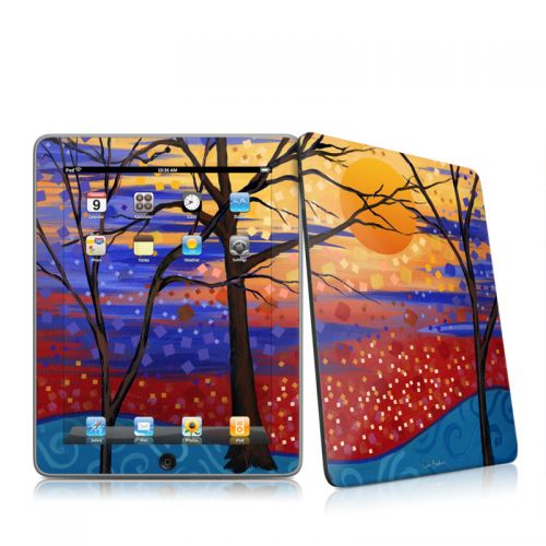Sunset Moon iPad 1st Gen Skin