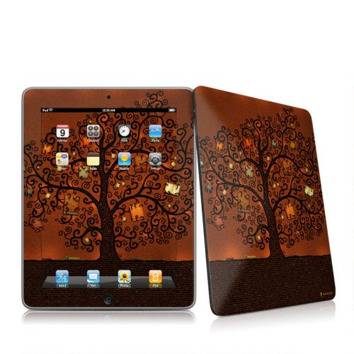 Tree Of Books iPad 1st Gen Skin
