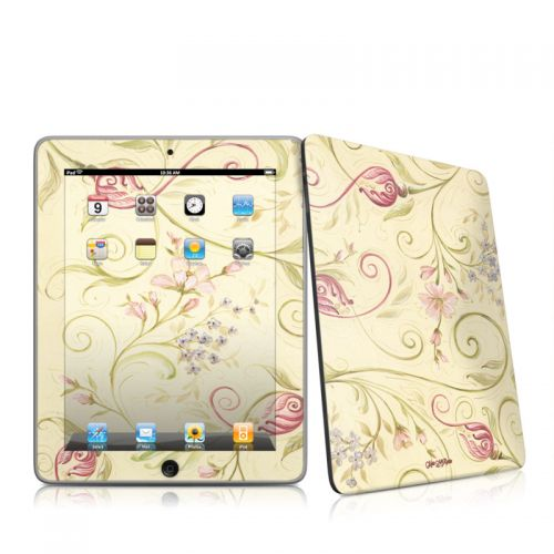 Tulip Scroll iPad 1st Gen Skin