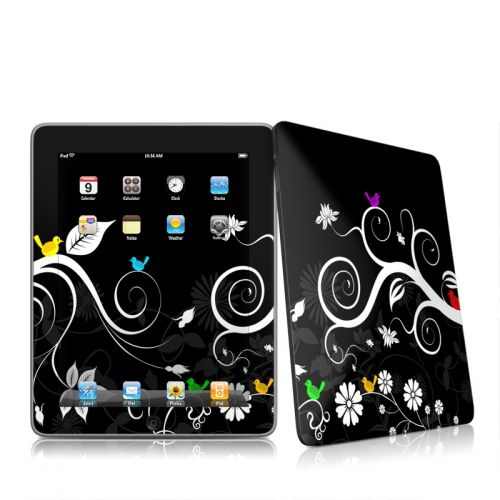 Tweet Dark iPad 1st Gen Skin
