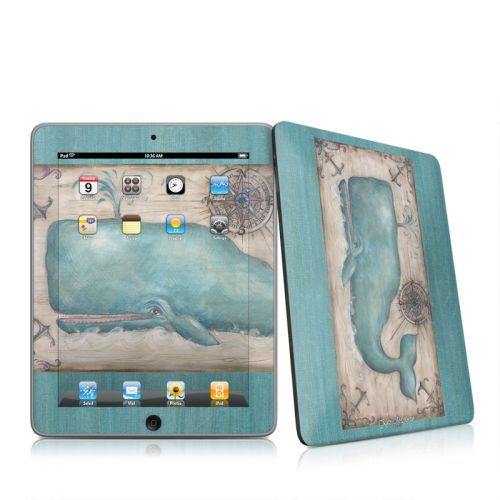 Whale Watch iPad 1st Gen Skin