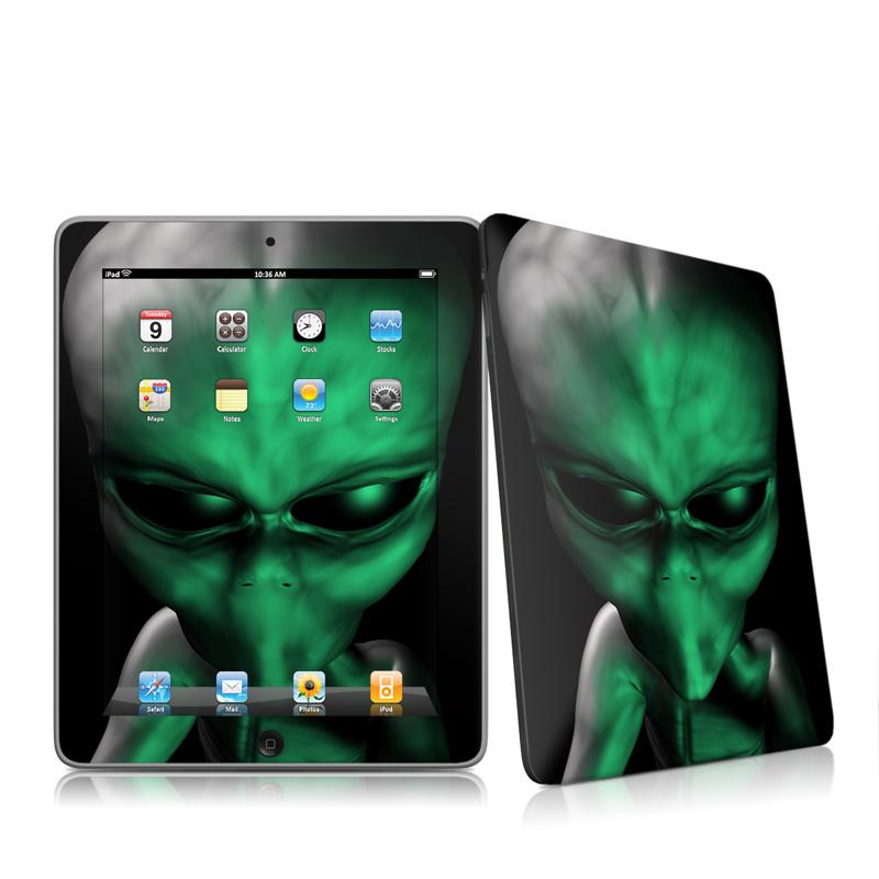 Abduction iPad 1st Gen Skin