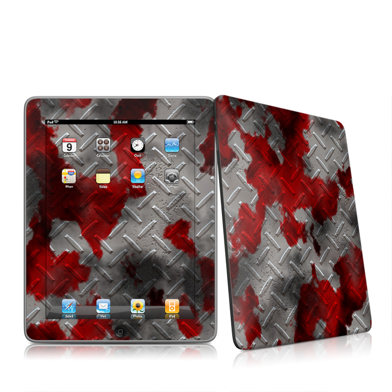 Accident iPad 1st Gen Skin