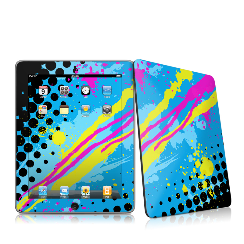 Acid Apple iPad 1st Gen Skin