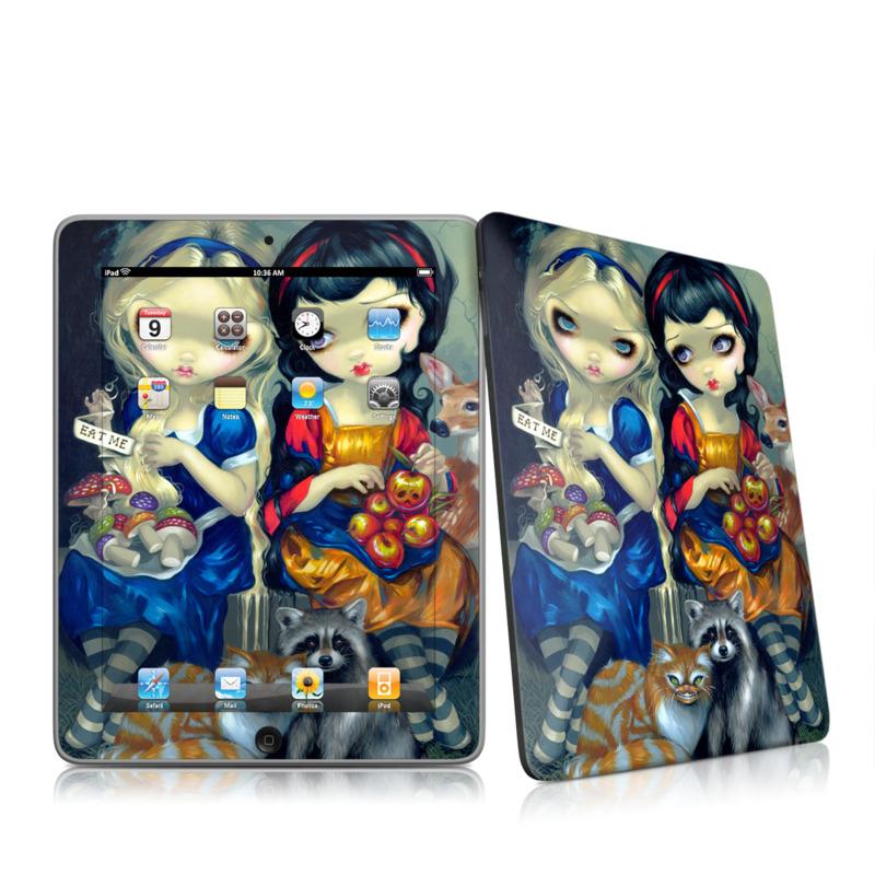 Alice & Snow White Apple iPad 1st Gen Skin