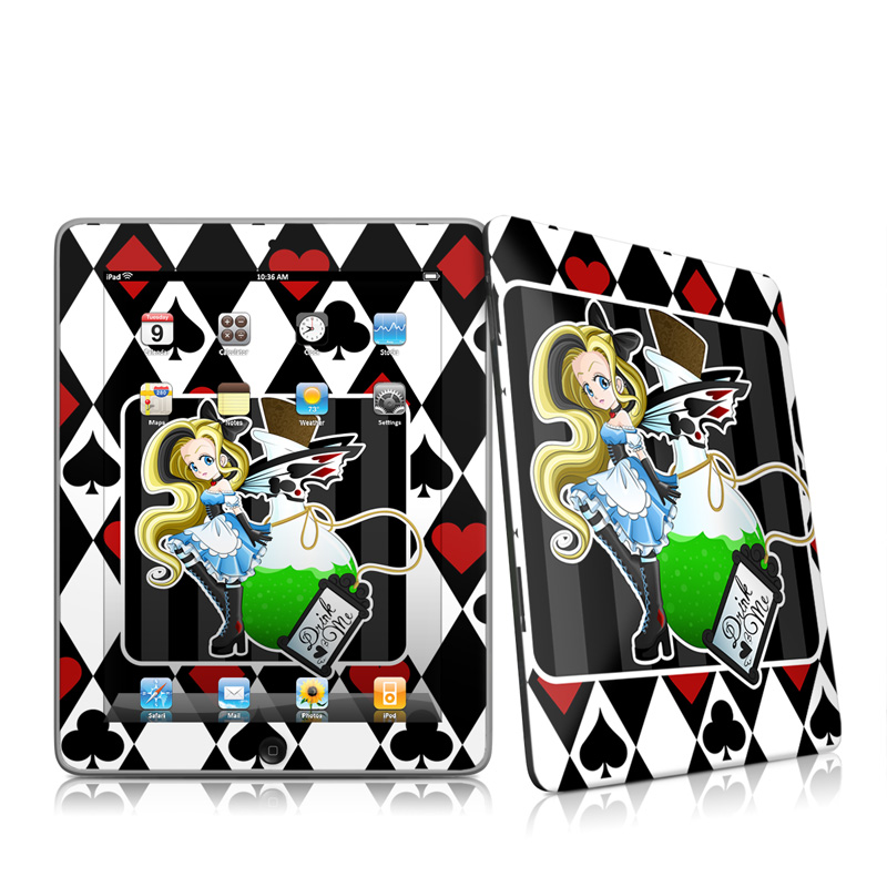 Alice Apple iPad 1st Gen Skin