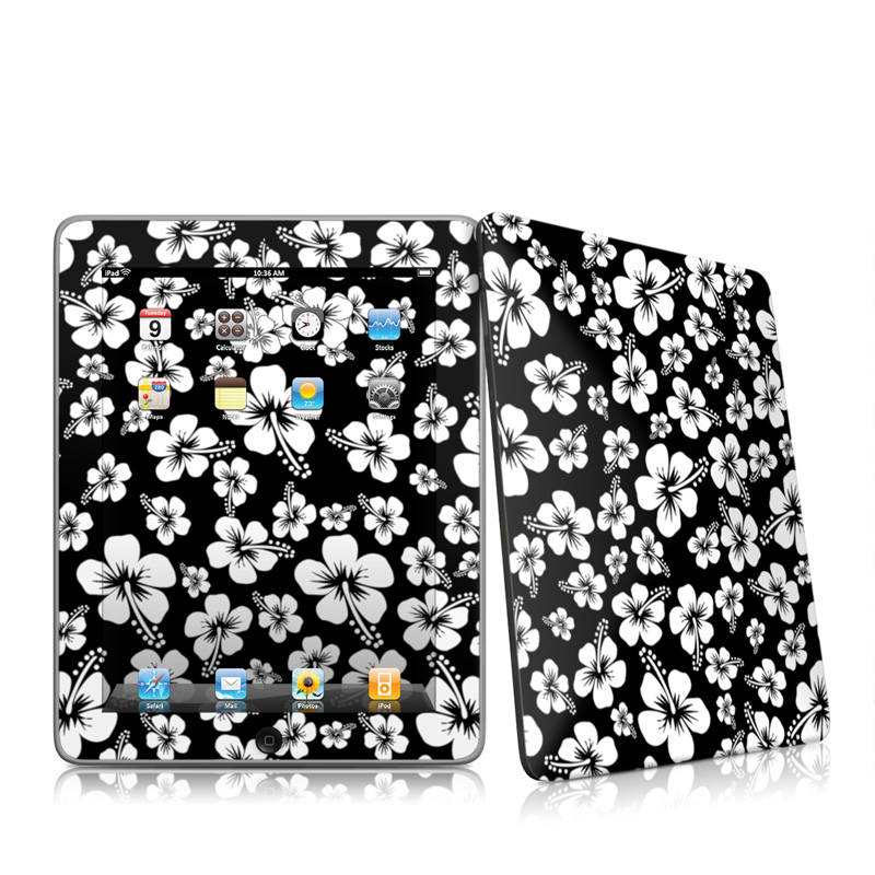 Aloha Black Apple iPad 1st Gen Skin