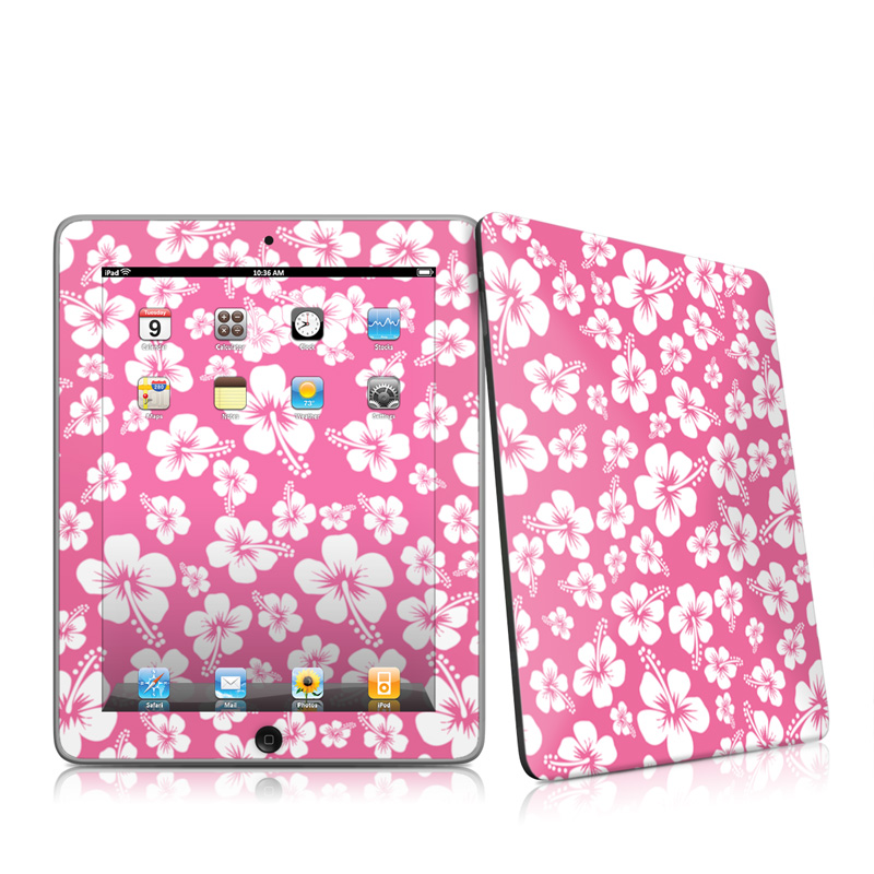 Aloha Pink Apple iPad 1st Gen Skin
