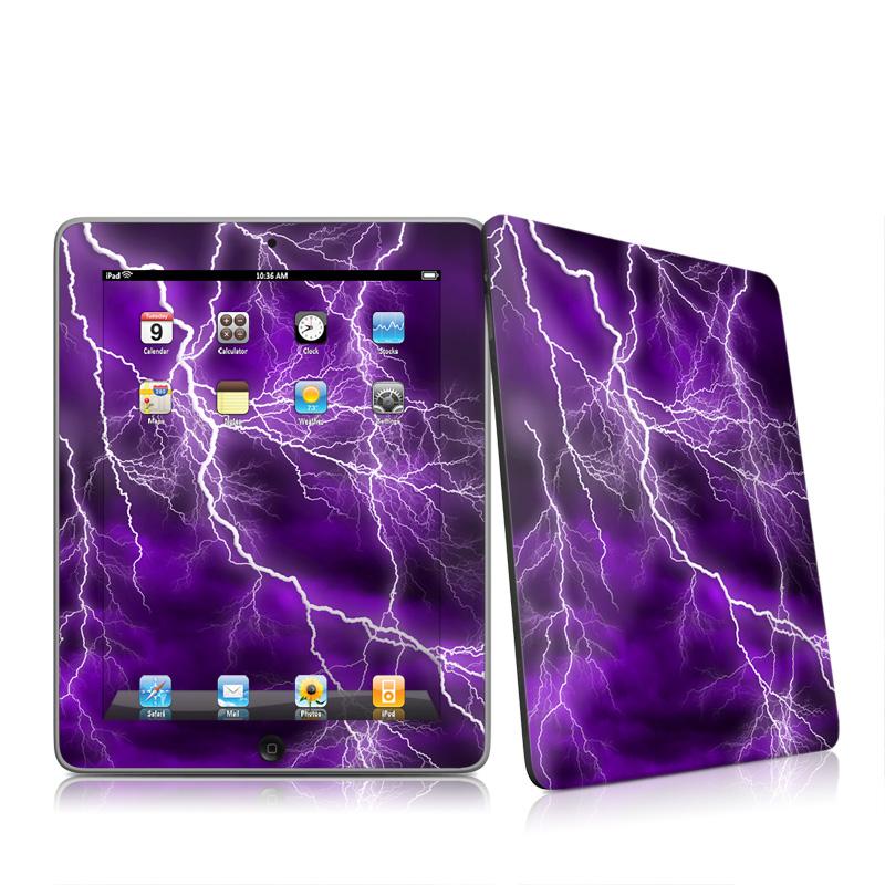 Apocalypse Violet Apple iPad 1st Gen Skin
